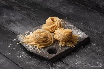 Живая паста спагетти