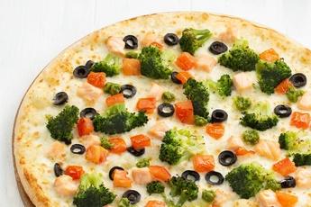 Пицца «Берген» на тонком тесте