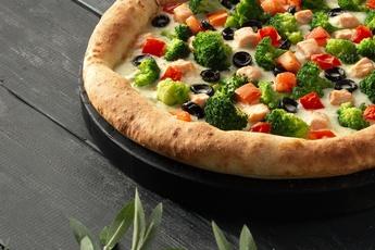 Пицца «Берген» с сырным бортом 30 см