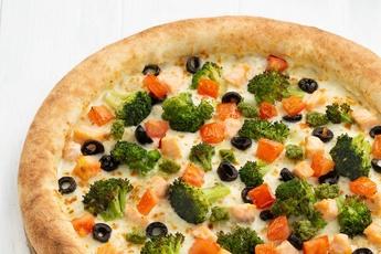 Пицца «Берген» с сырным бортом
