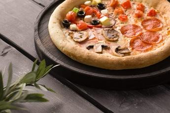 Пицца «Четыре сезона» 24 см