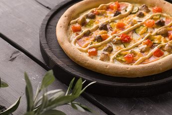 Пицца «Чизбургер» 24 см