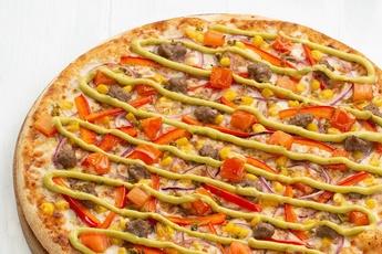 Пицца «Эль-пасо» на тонком тесте