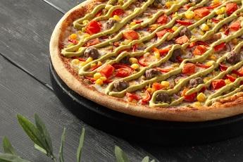 Пицца «Эль-пасо» на тонком тесте 30 см
