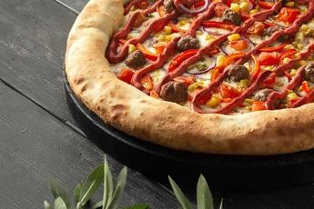 Пицца «Эль-пасо» с сырным бортом 30 см