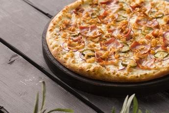 Пицца «Фермерская» на тонком тесте 30 см