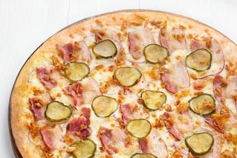 Пицца «Фермерская» на тонком тесте