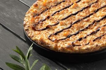 Пицца «Филадельфия» на тонком тесте 30 см