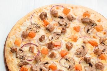 Пицца «Колорадо» на тонком тесте