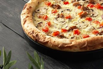 Пицца «Колорадо» с сырным бортом 30 см
