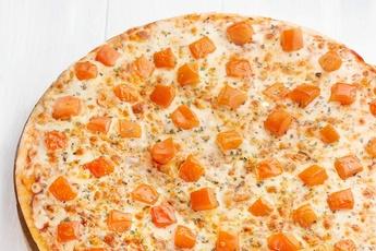 Пицца «Маргарита» на тонком тесте