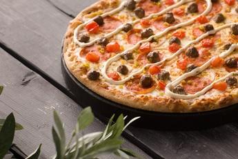 Пицца «Сардиния» на тонком тесте 30 см