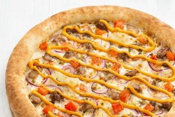 Пицца «Сингапур» с сырным бортом
