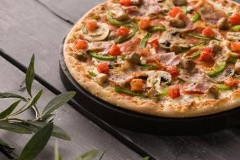 Супер-пицца на тонком тесте 30 см