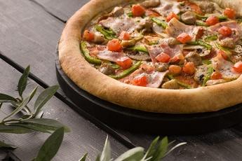 Супер-пицца с сырным бортом 30 см