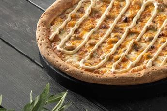 Пицца «Сырный цыпленок» 30 см
