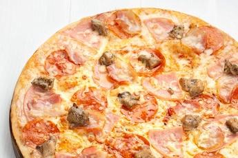 Пицца «Техас» на тонком тесте
