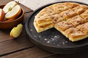 Осетинский пирог 24 см с яблоком
